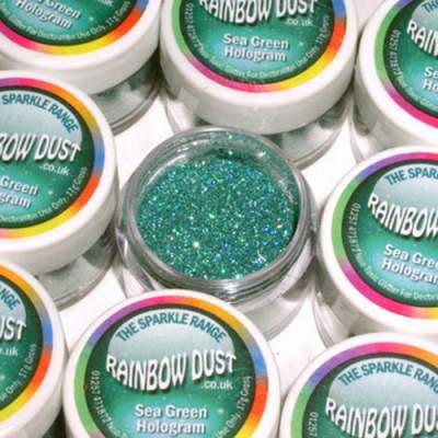 RD Decorative Sparkles Hologram - Sea Green -5g-