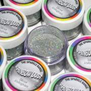 RD Decorative Sparkles Hologram - Silver -5g-